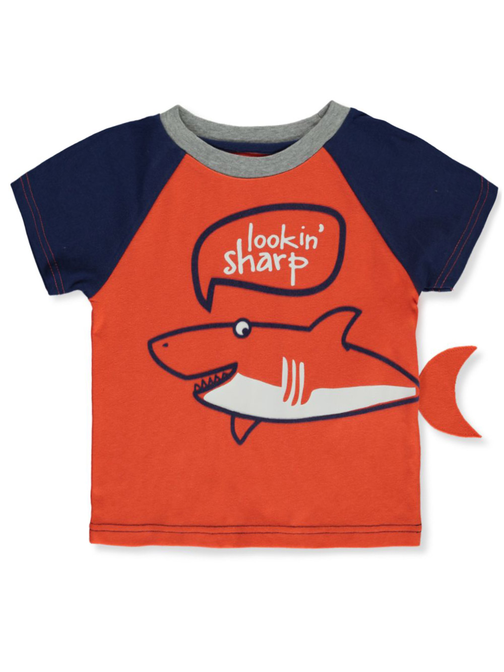 Button-Downs Shark Graphic