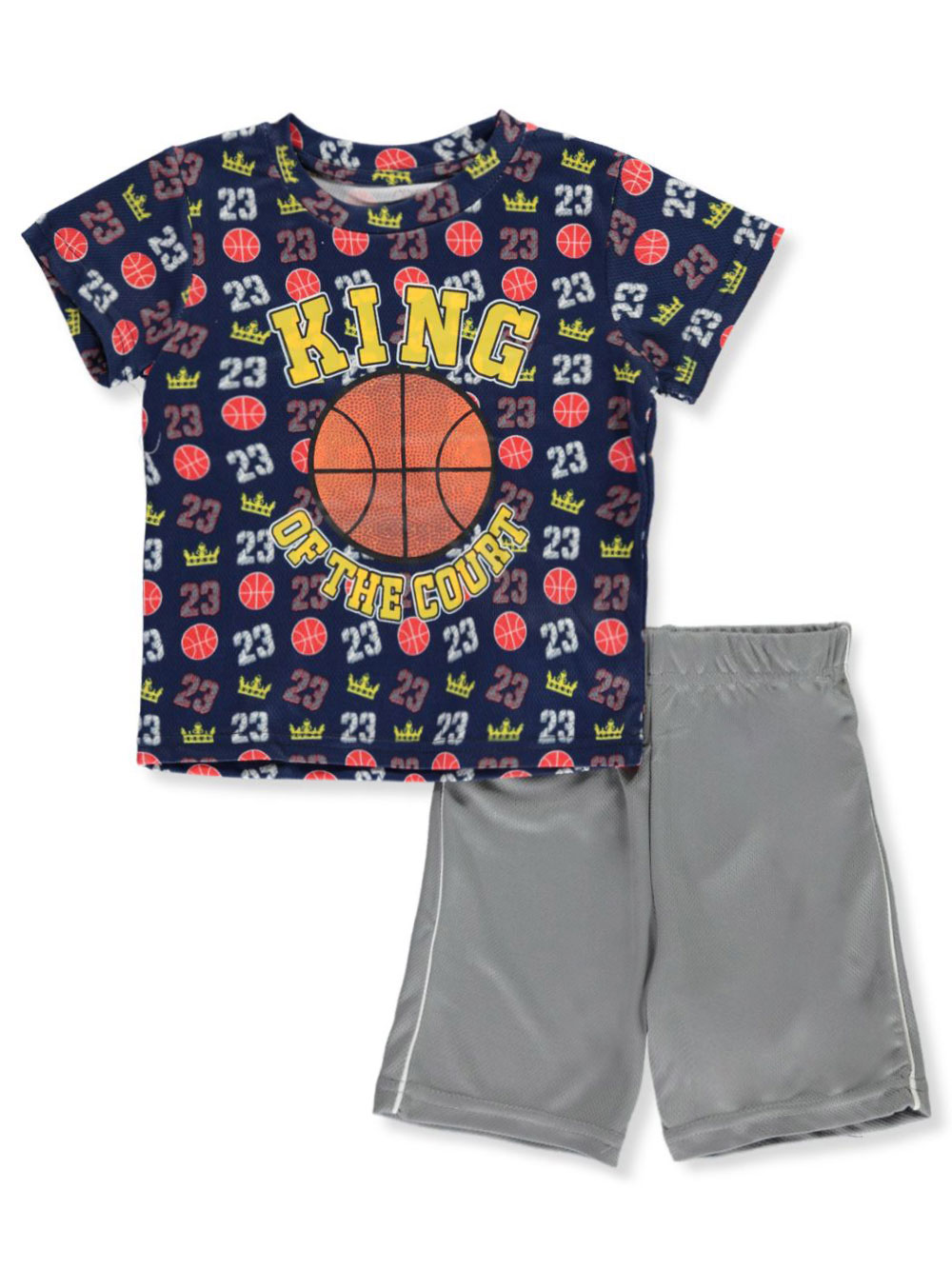 Boys Navy and Multicolor Sets