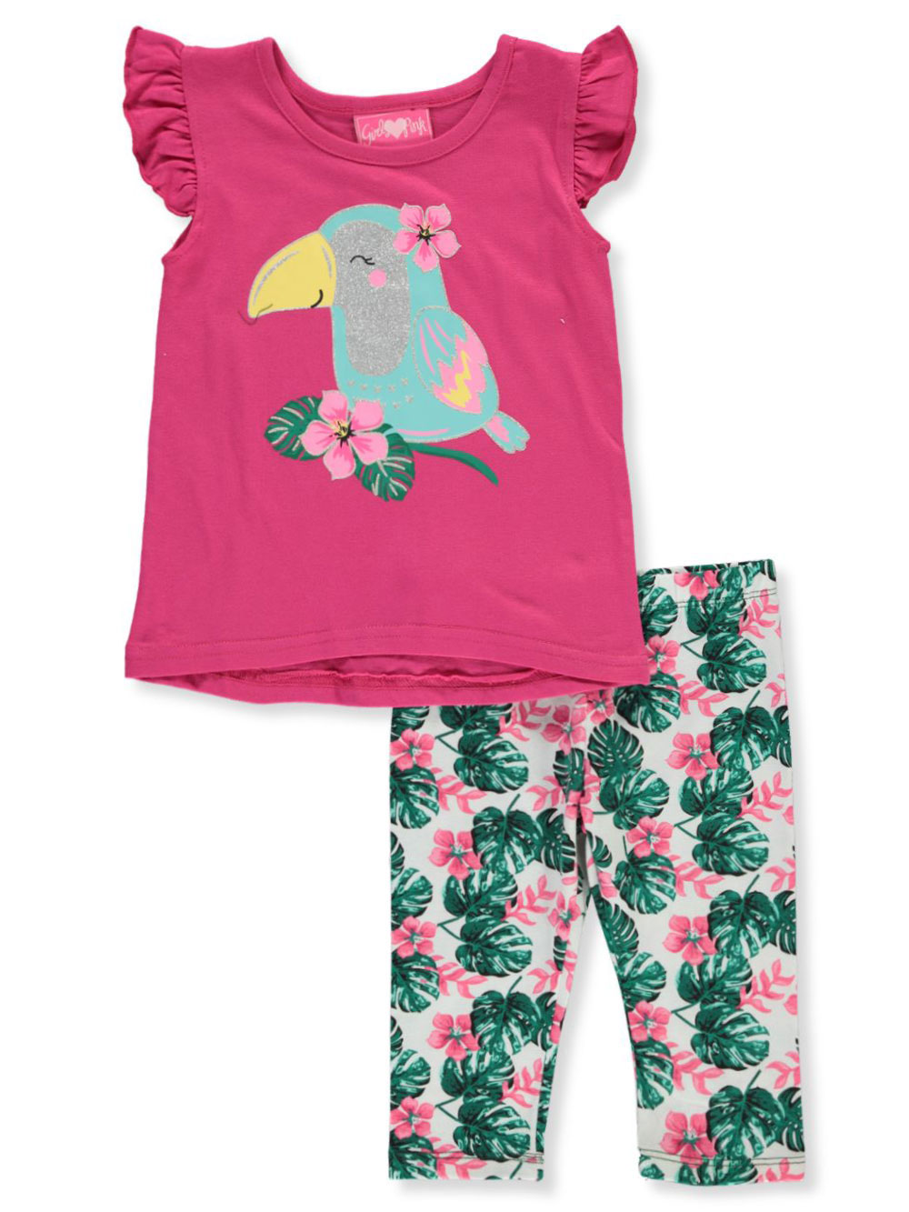 Girls Pink Pant Sets