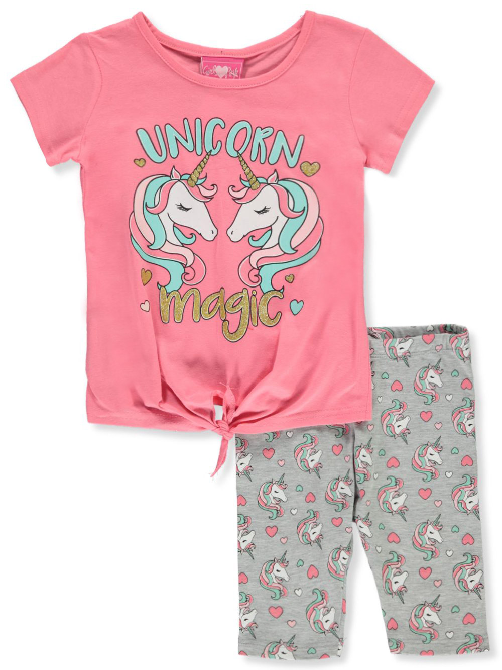 Sizes 4-6x 2-Piece Leggings Set Outfit