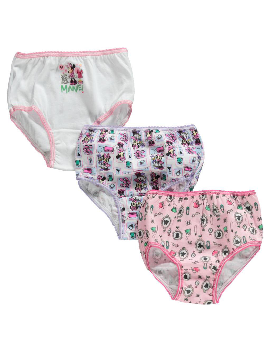 Minnie Mouse 3-Pack Panties