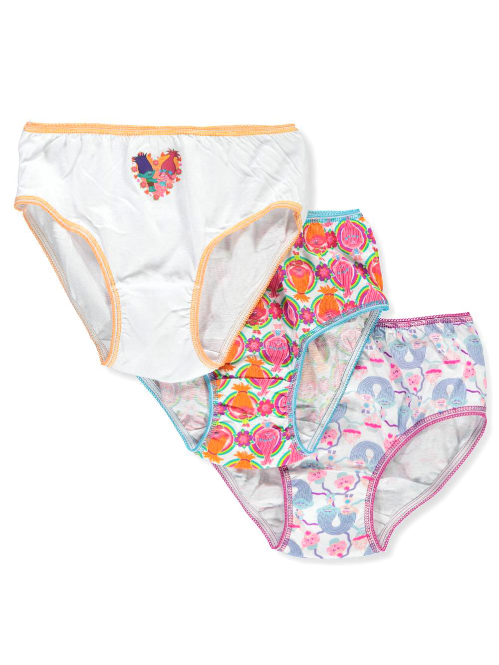 Girls' 3-Pack Briefs