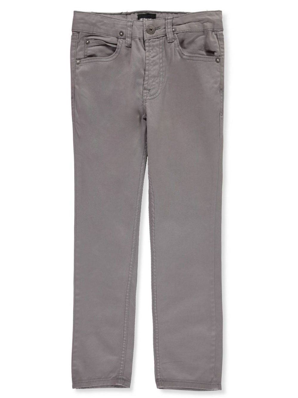 Boys' Slim Straight Twill Pants