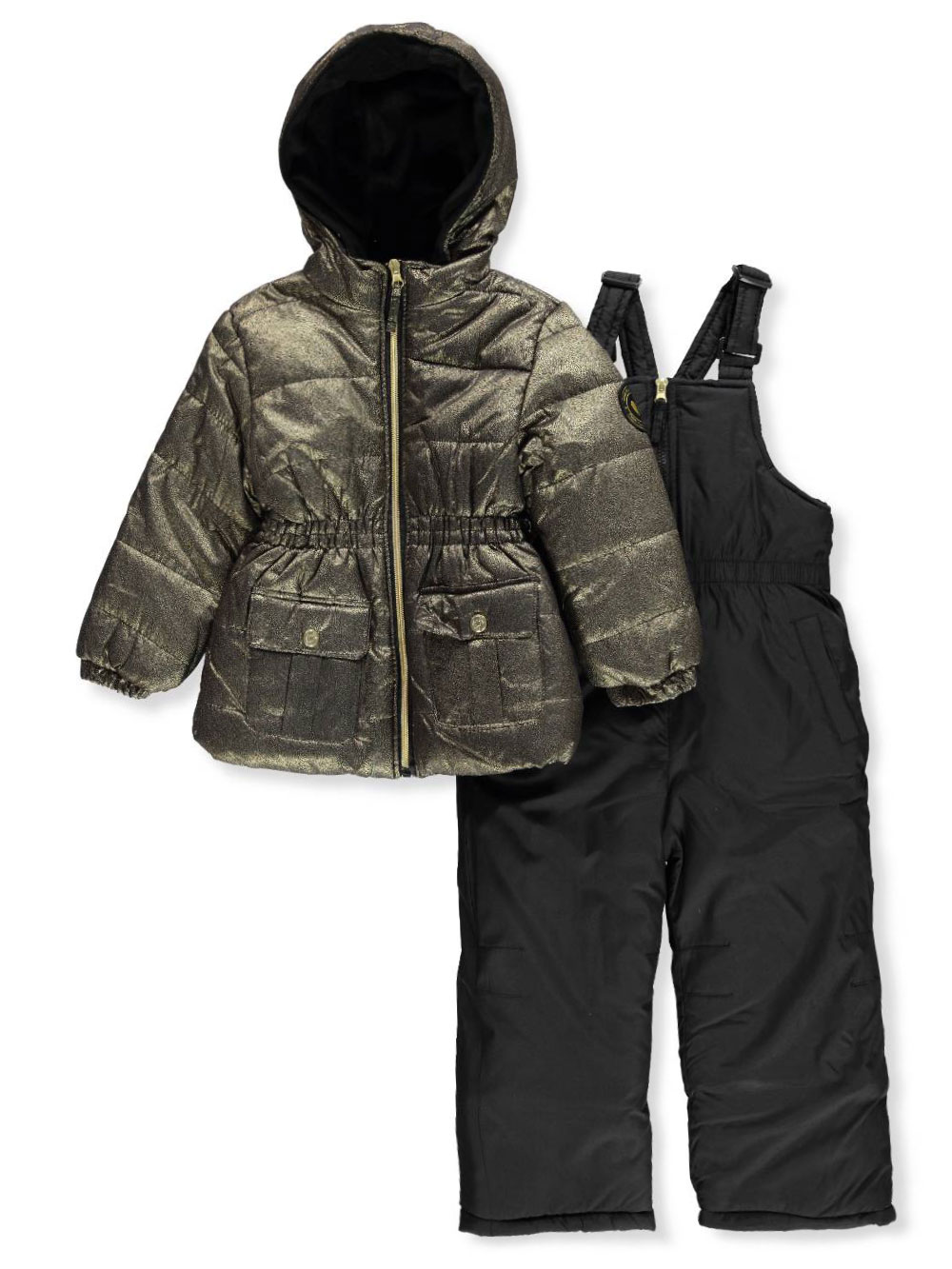 3925029d0 Girls' 2-Piece Snowsuit by Pink Platinum in Gold from Cookie's Kids