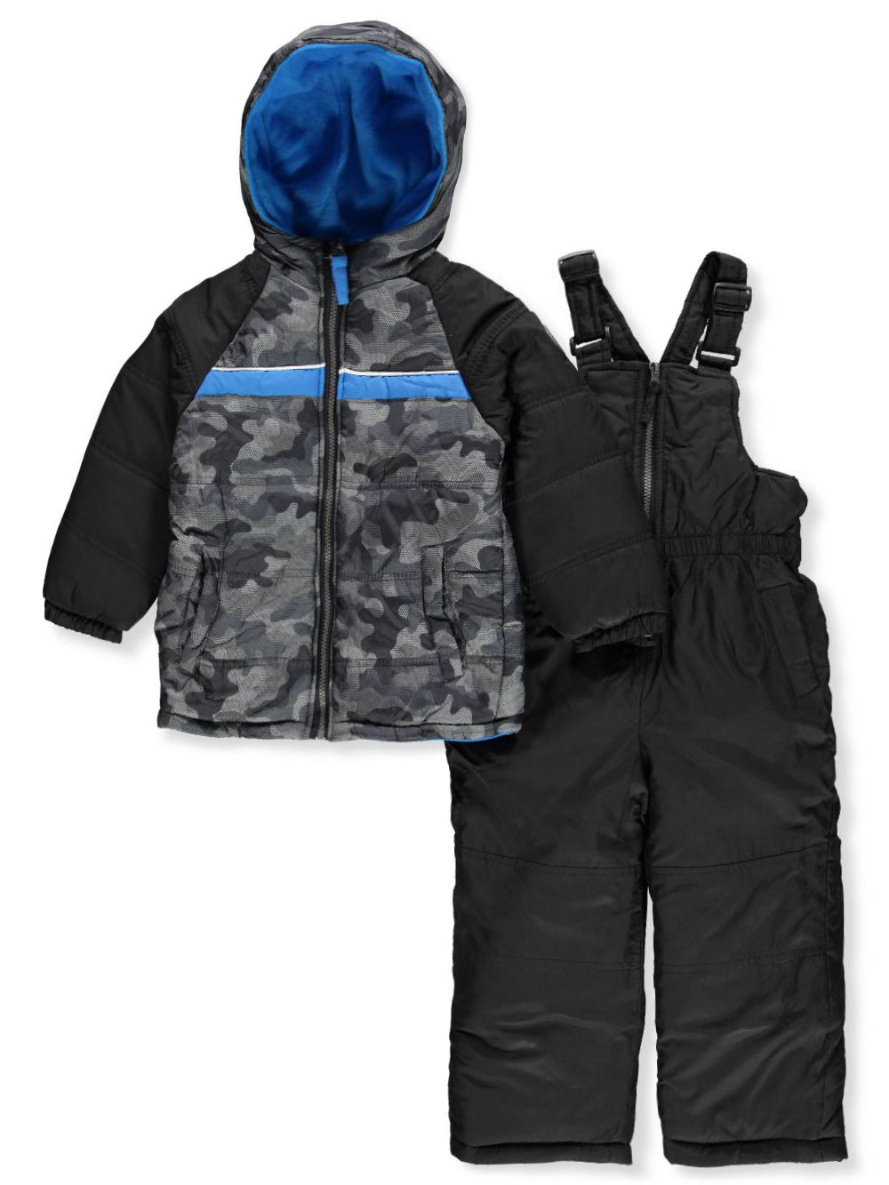Boys Gray Snowsuits