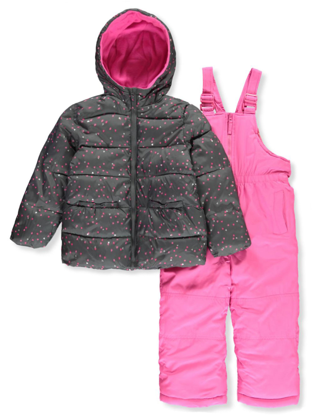 Girls Navy Snowsuits