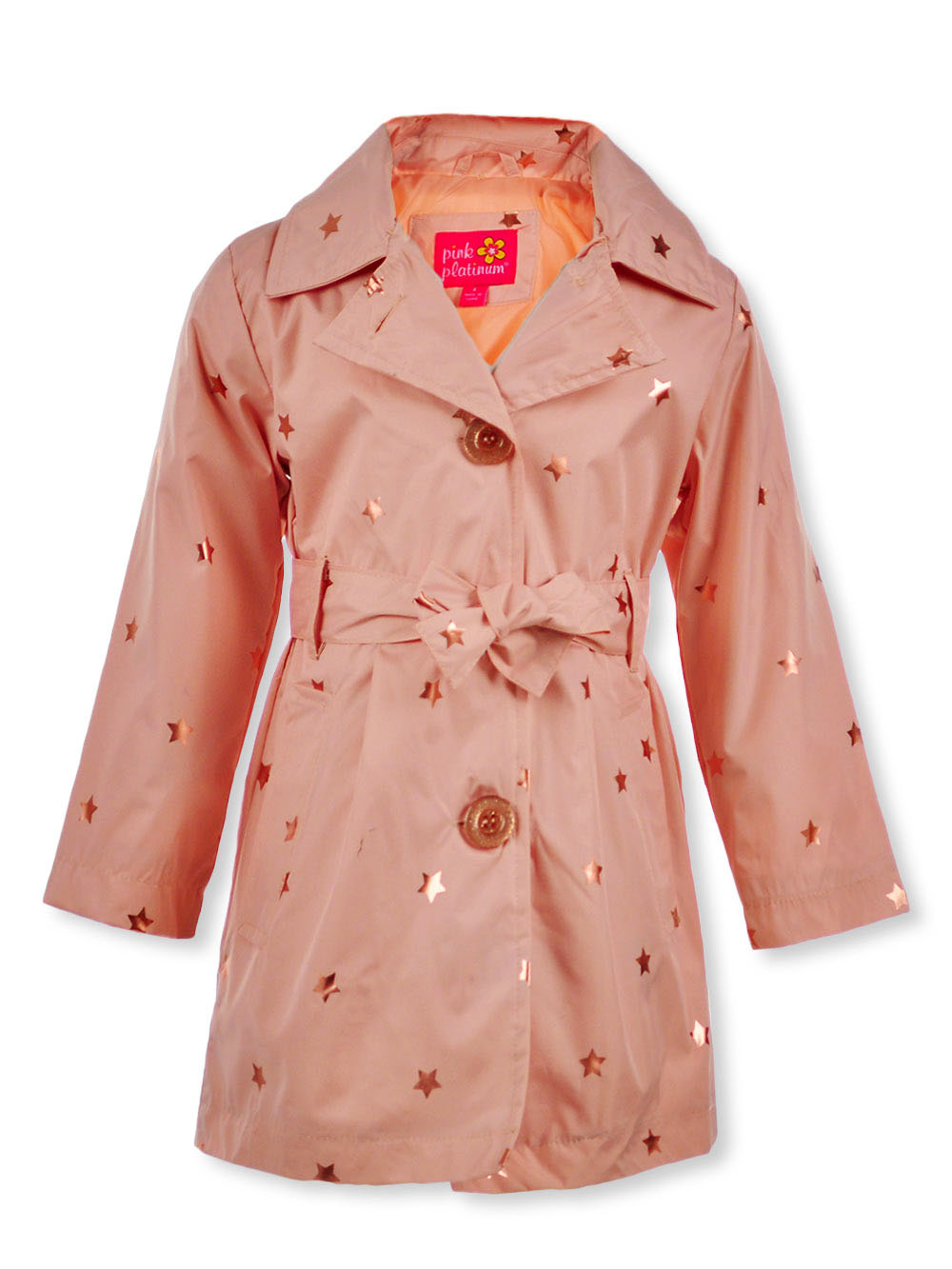 Girls' Hooded Raincoat