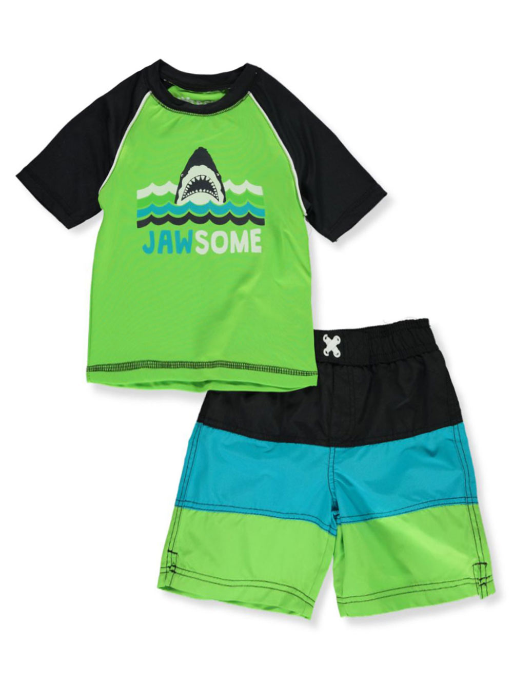 Swimwear 2-Piece Rash Guard Swim Set