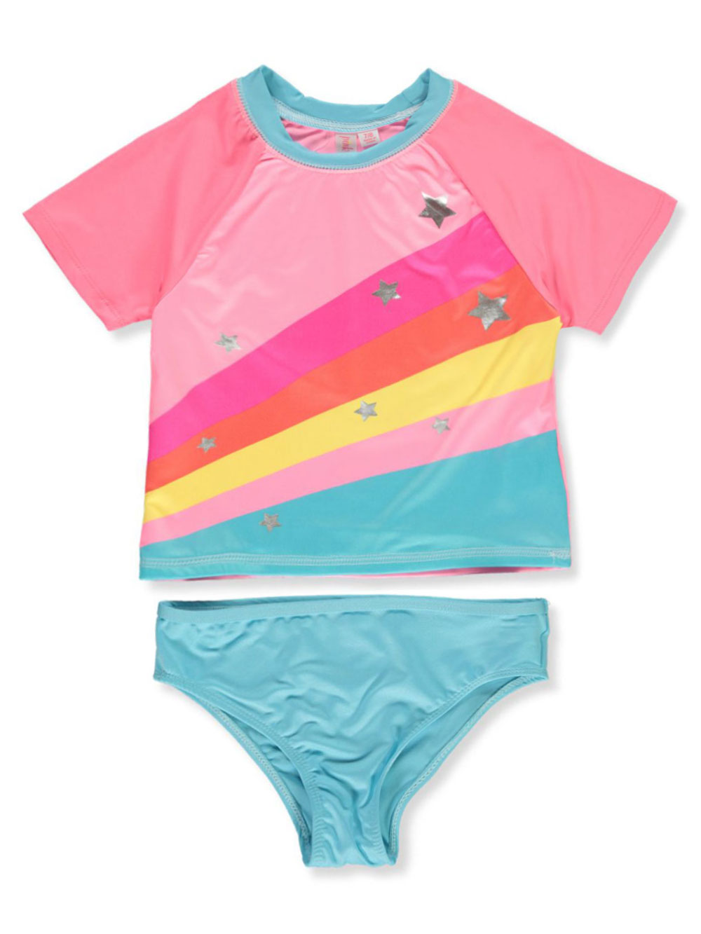 Girls Pink Swimwear