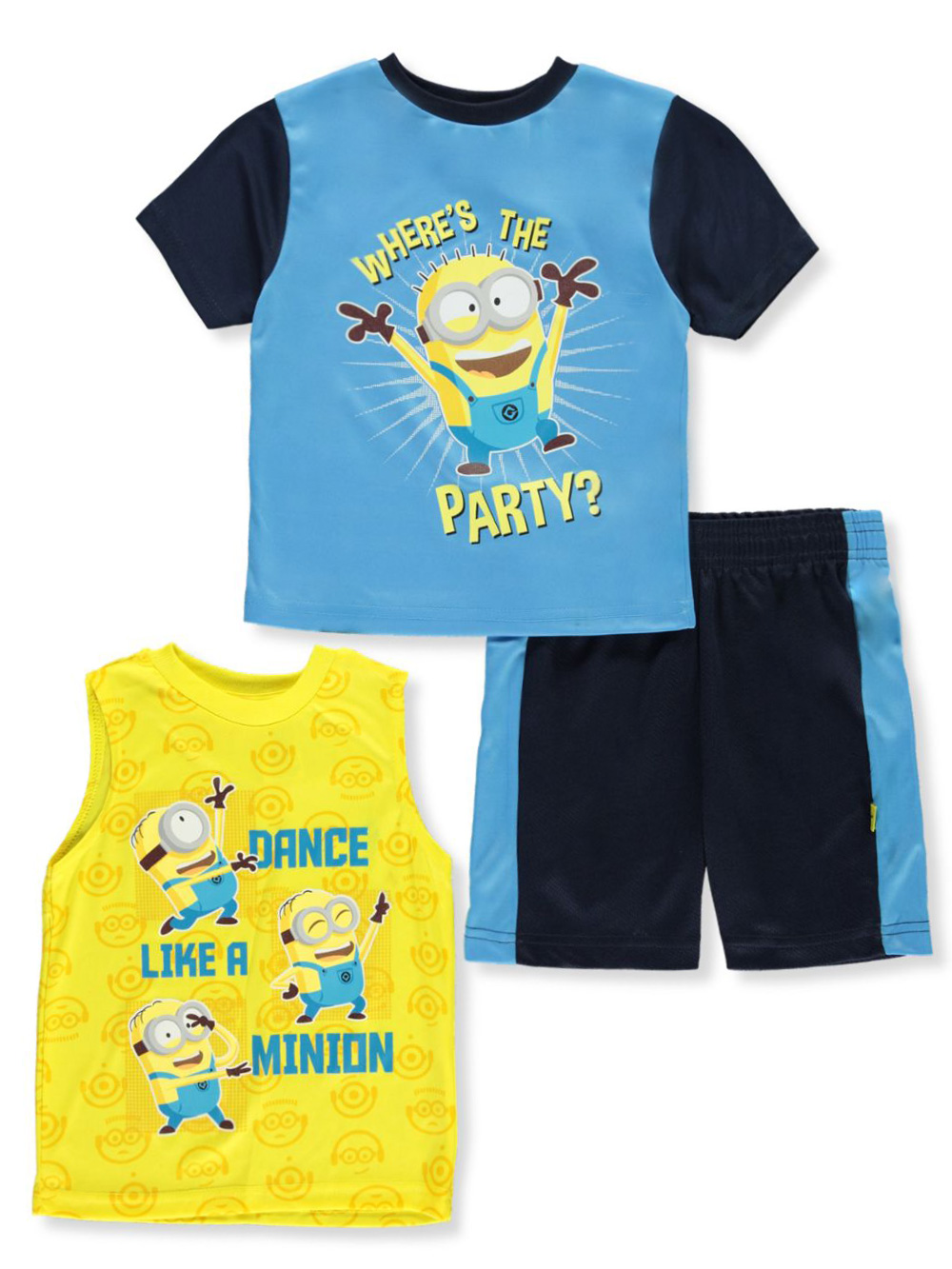 Boys' Whale 3-Piece Shorts Set Outfit