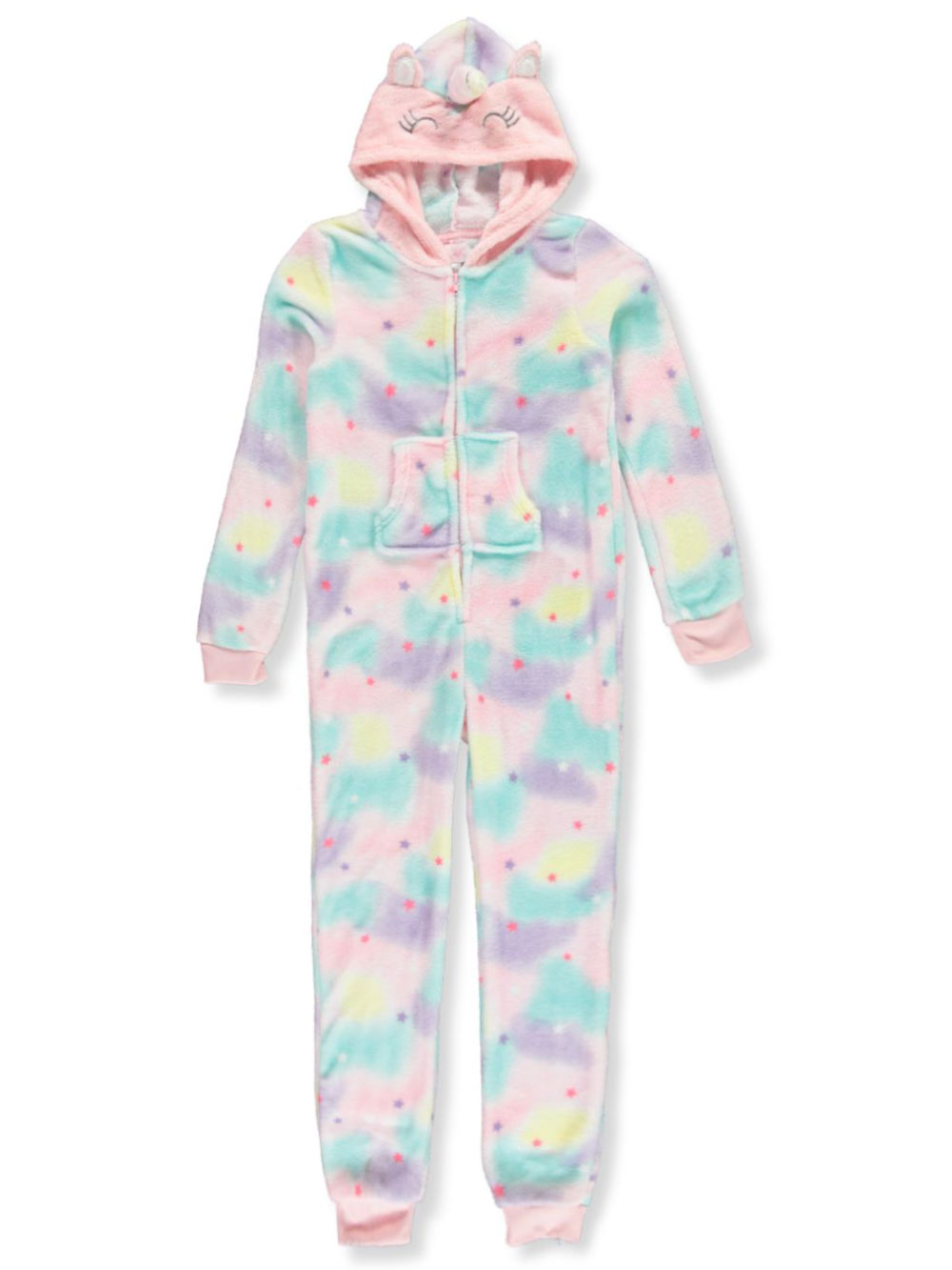 Girls Fashion 1-Piece Pajamas