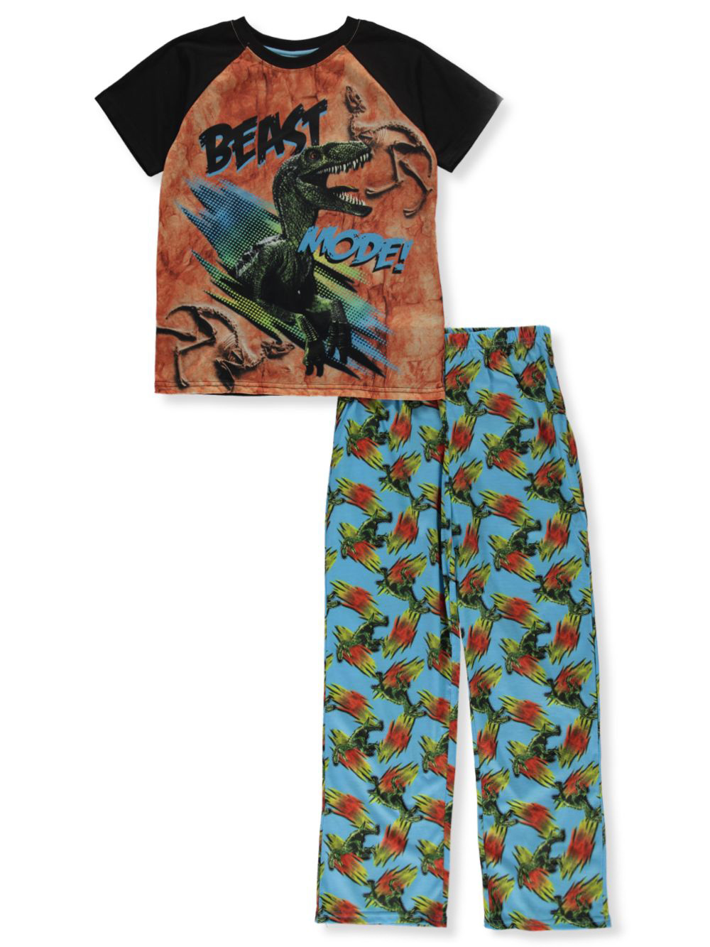 Boys' Beast Mode 2-Piece Pajamas