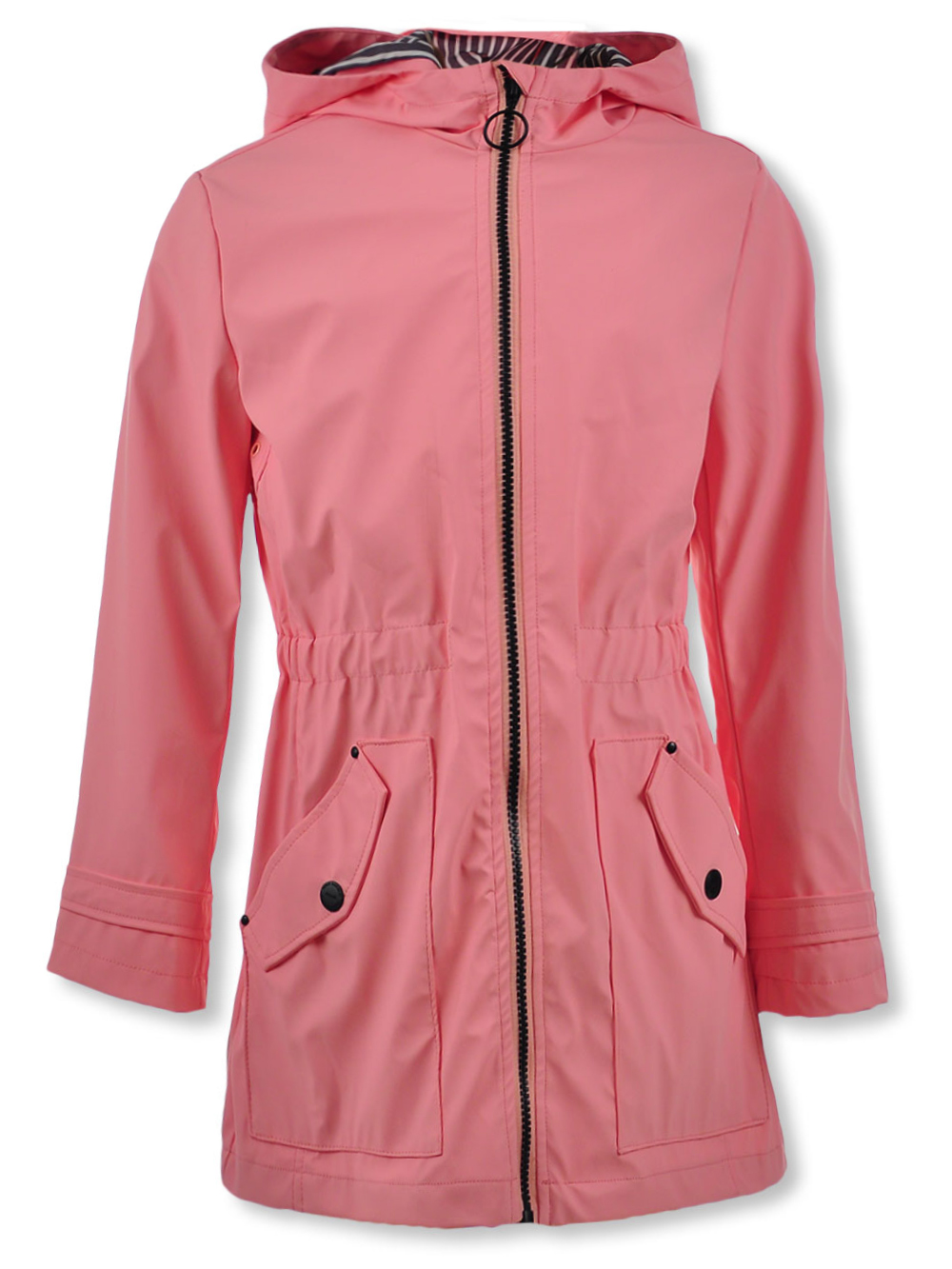 Girls Light Pink Light Jackets