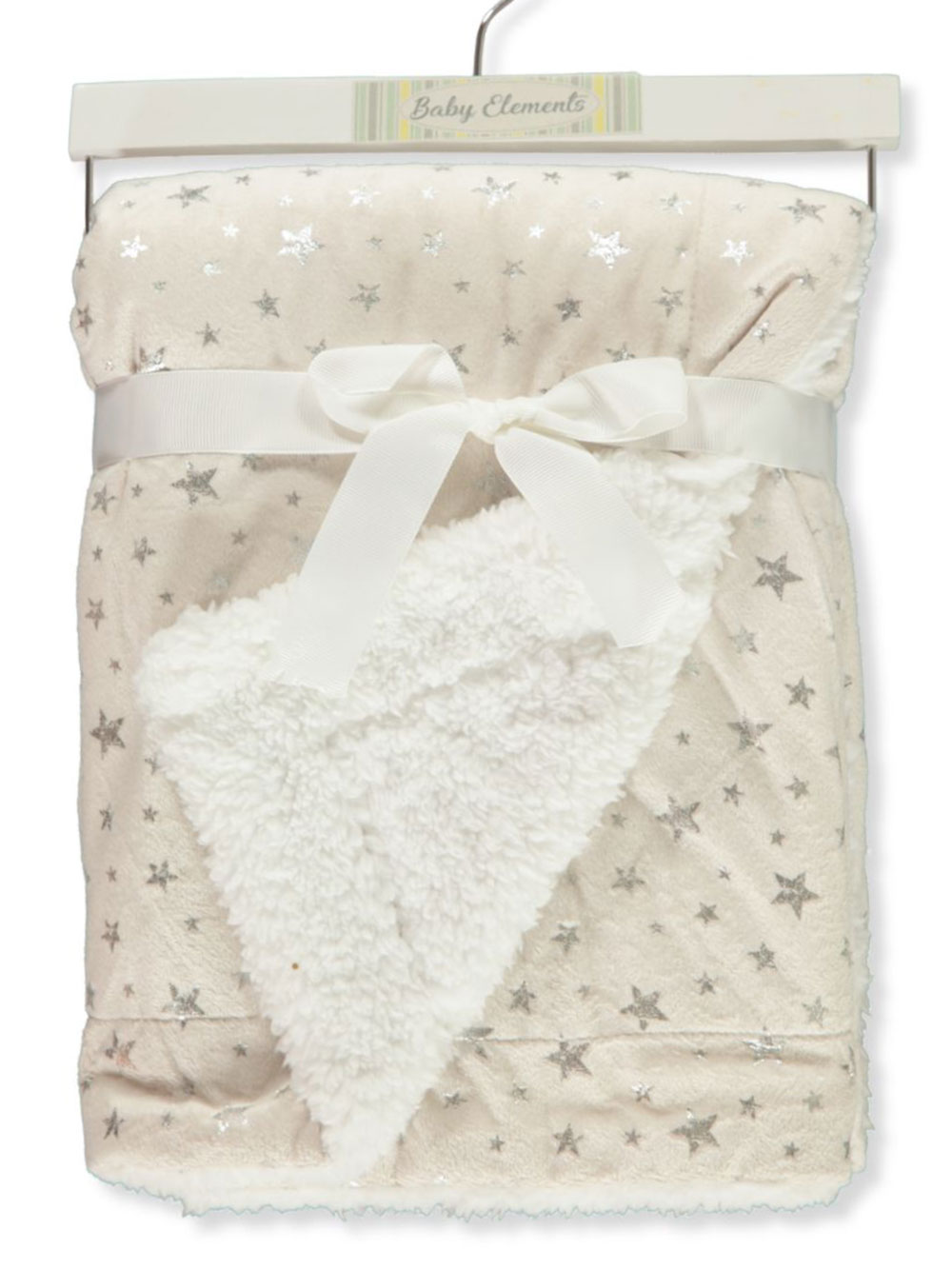 Star Plush Blanket With Wooden Hanger