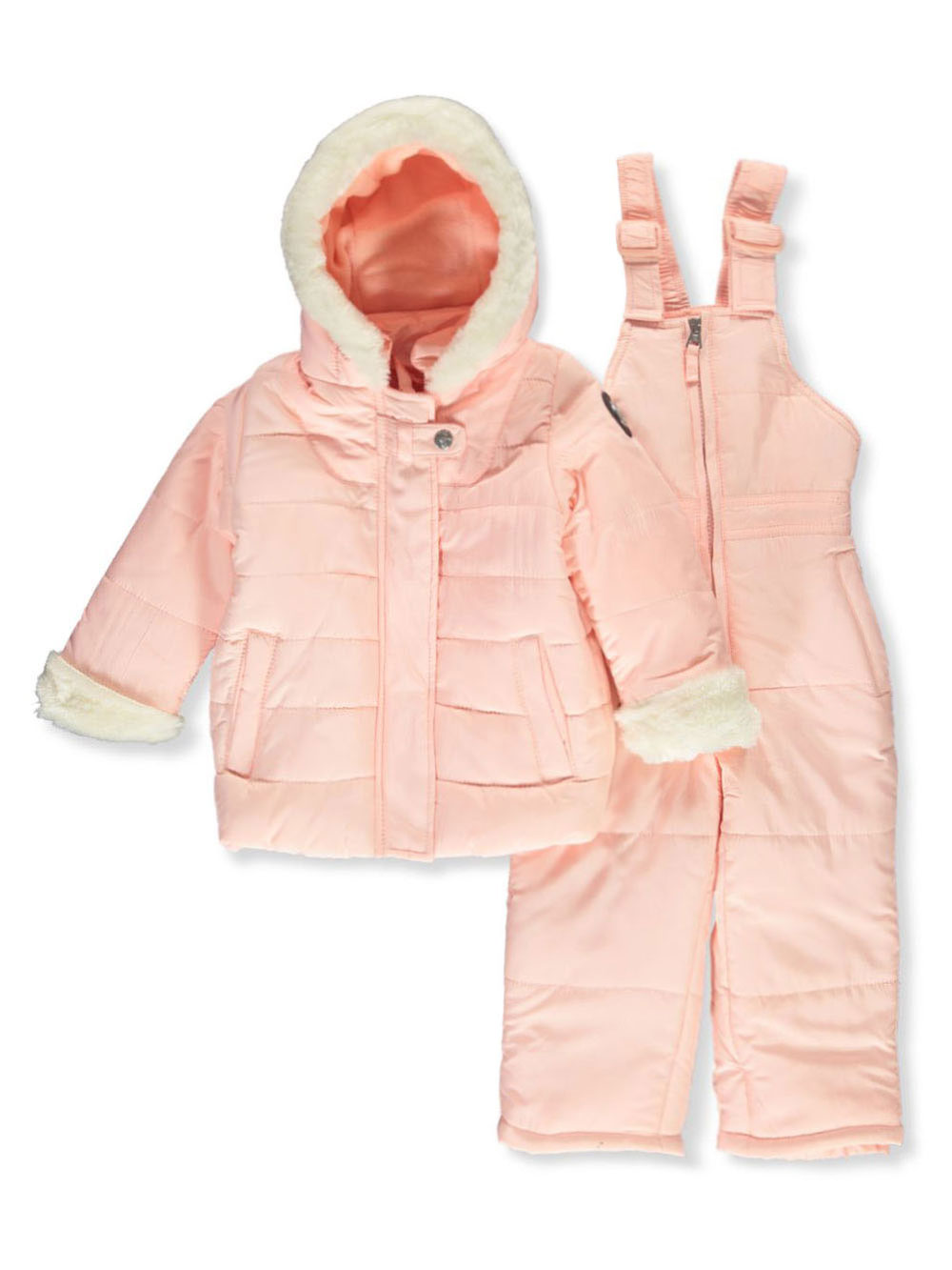Girls Blush Snowsuits