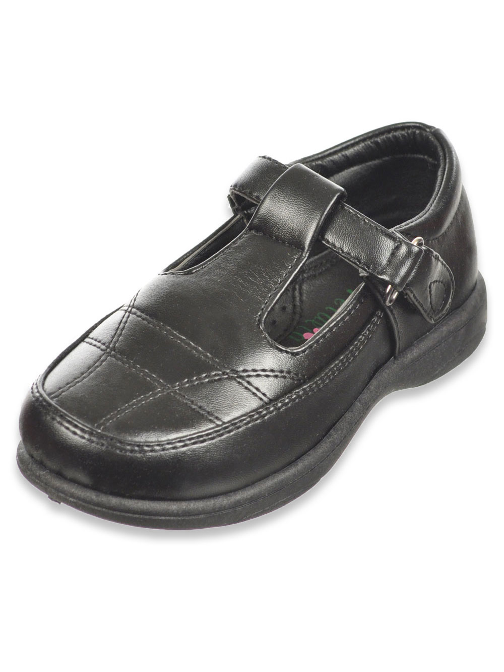 Petalia Girls Mary Jane School Uniform Shoe