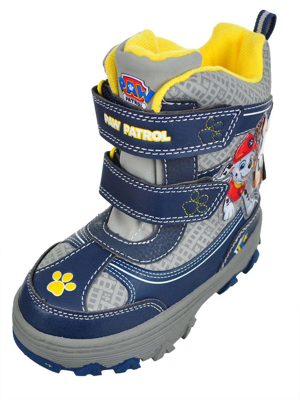 293415d36 Paw Patrol Boys' Winter Boots (Sizes 7 – 12)