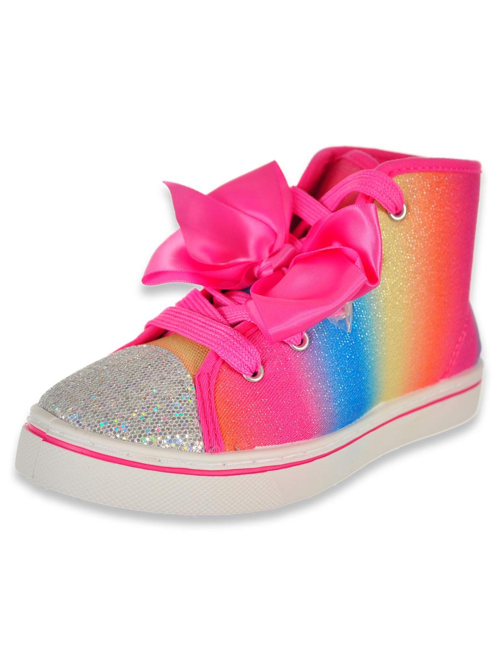 Girls Rainbow Style Hi Top Sneakers By Jojo Siwa In Multi From