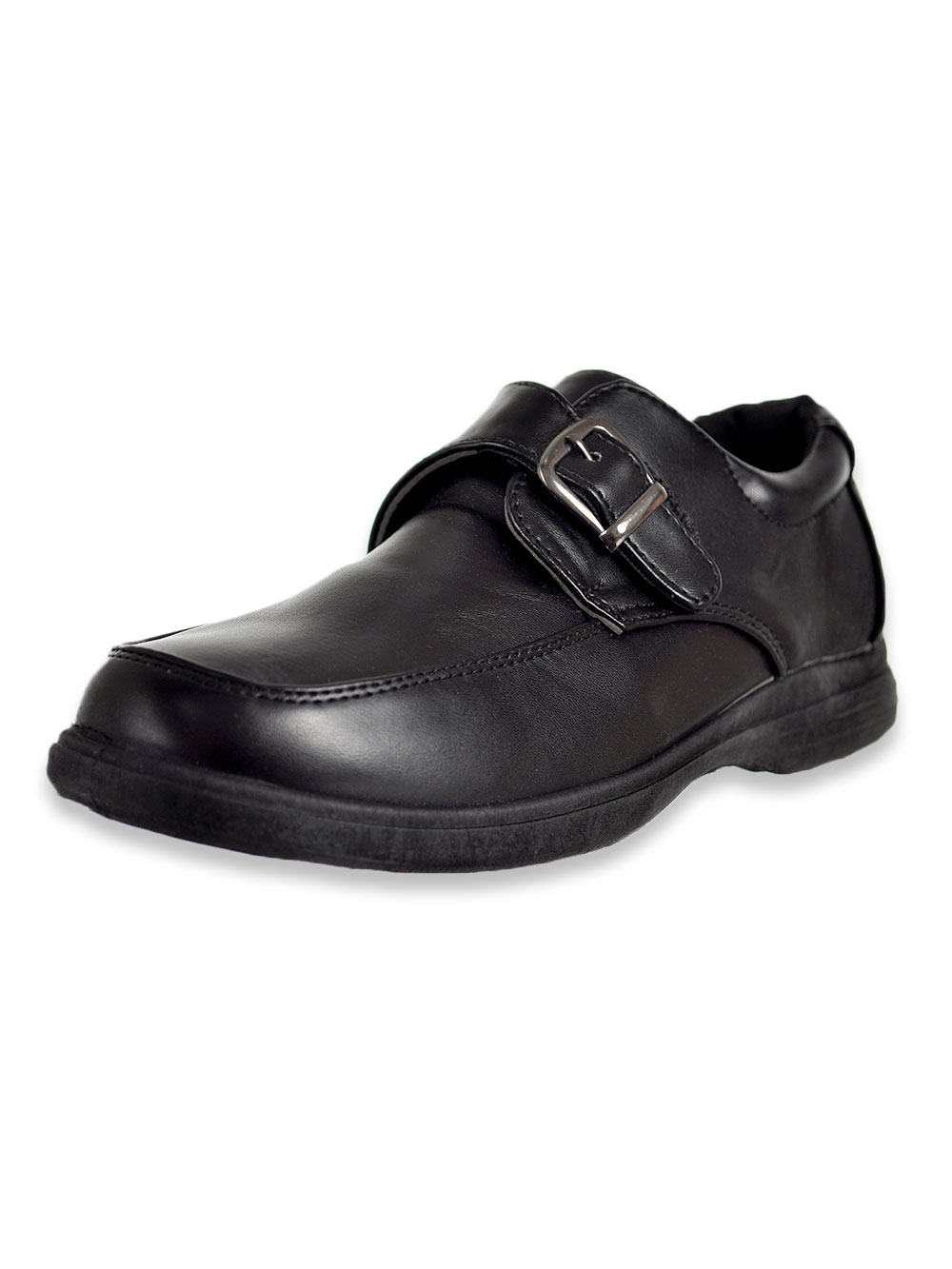 Boys' Buckle Strap School Shoes
