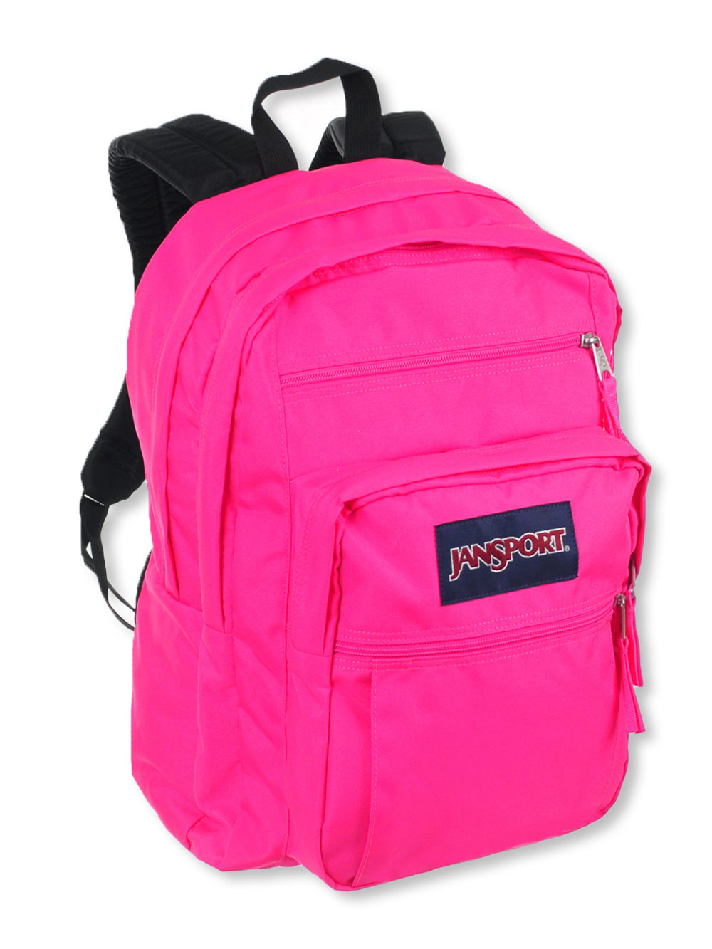 the sale of shoes detailed pictures super specials Big Student Backpack by Jansport in Ultra pink