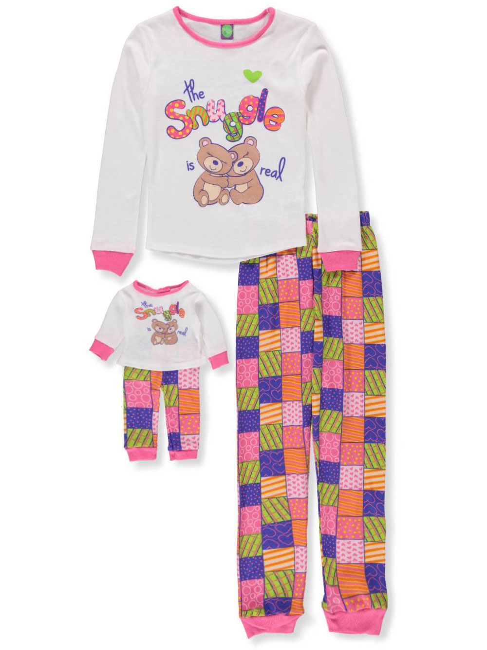 Pajamas 2-Piece with Doll