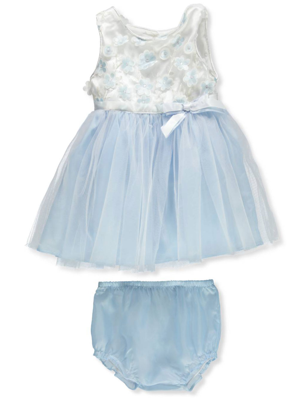 f4034bd3eb392 Baby Girls' Dress with Diaper Cover by Youngland in Cream from Cookie's Kids