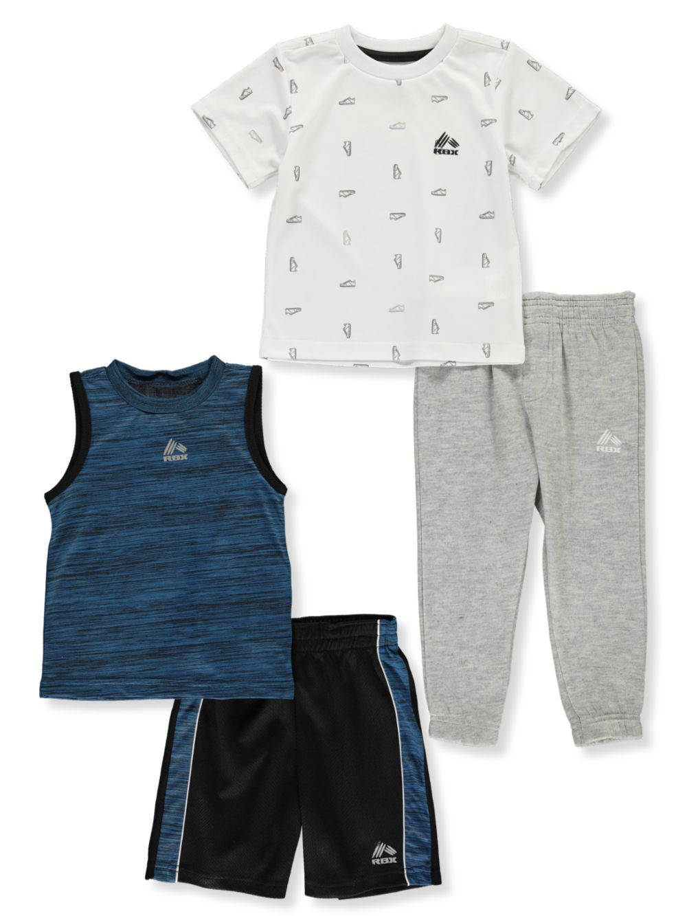 Sets 4-pack Shorts and Pants Outfits