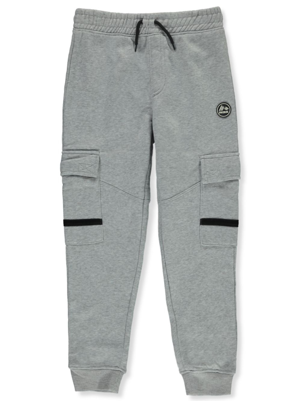 Sweatpants Stripe Accents at Cargo Pockets