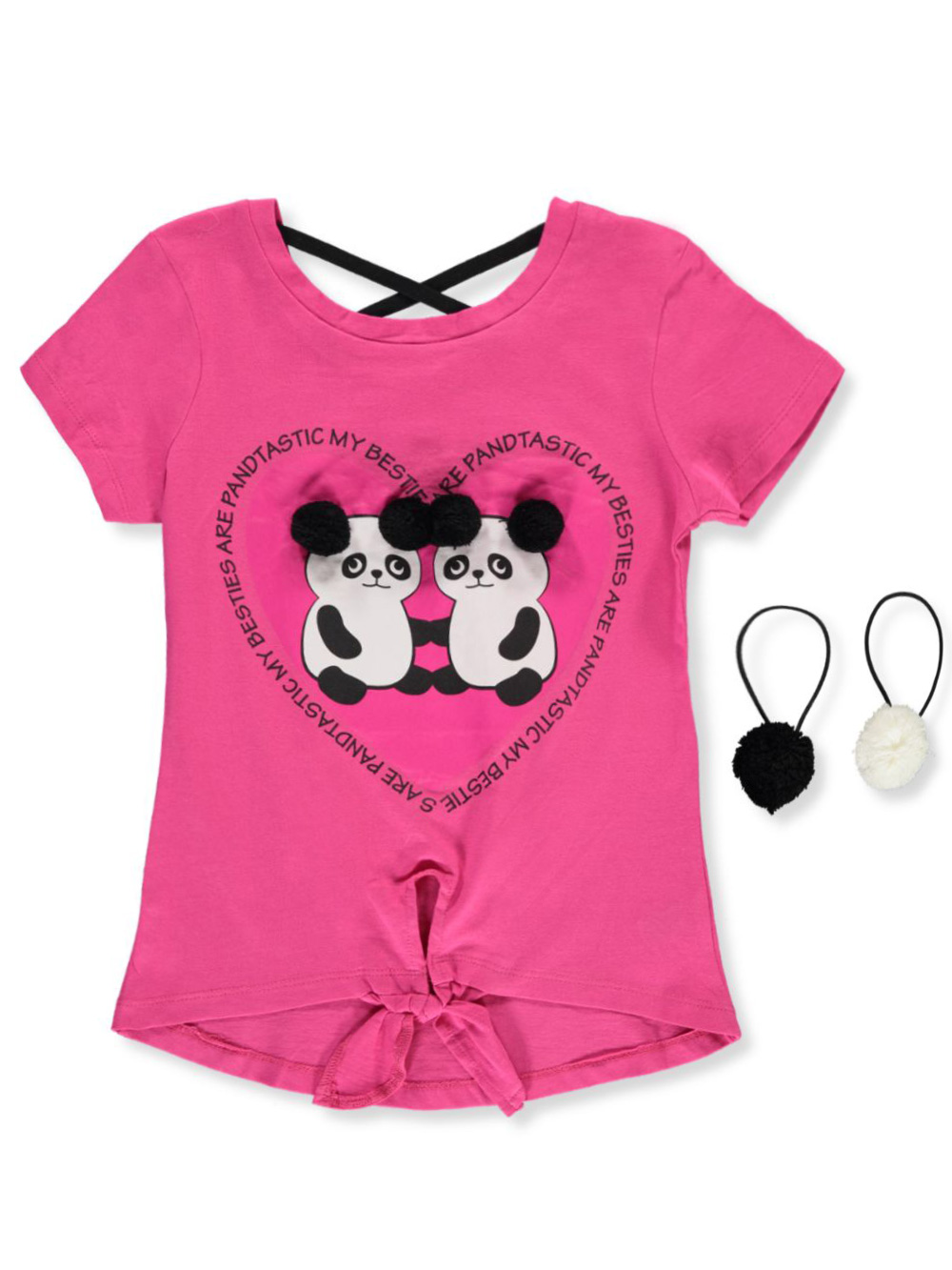 Girls Fuchsia Fashion Tops
