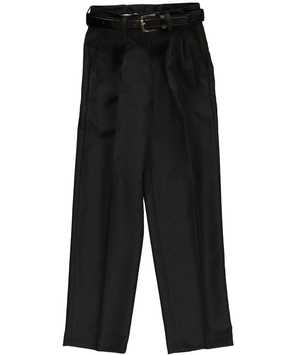Vittorino Vittorino Little Boys' Pleated Belted Dress Pants (Sizes 4 - 7) - charcoal, 7