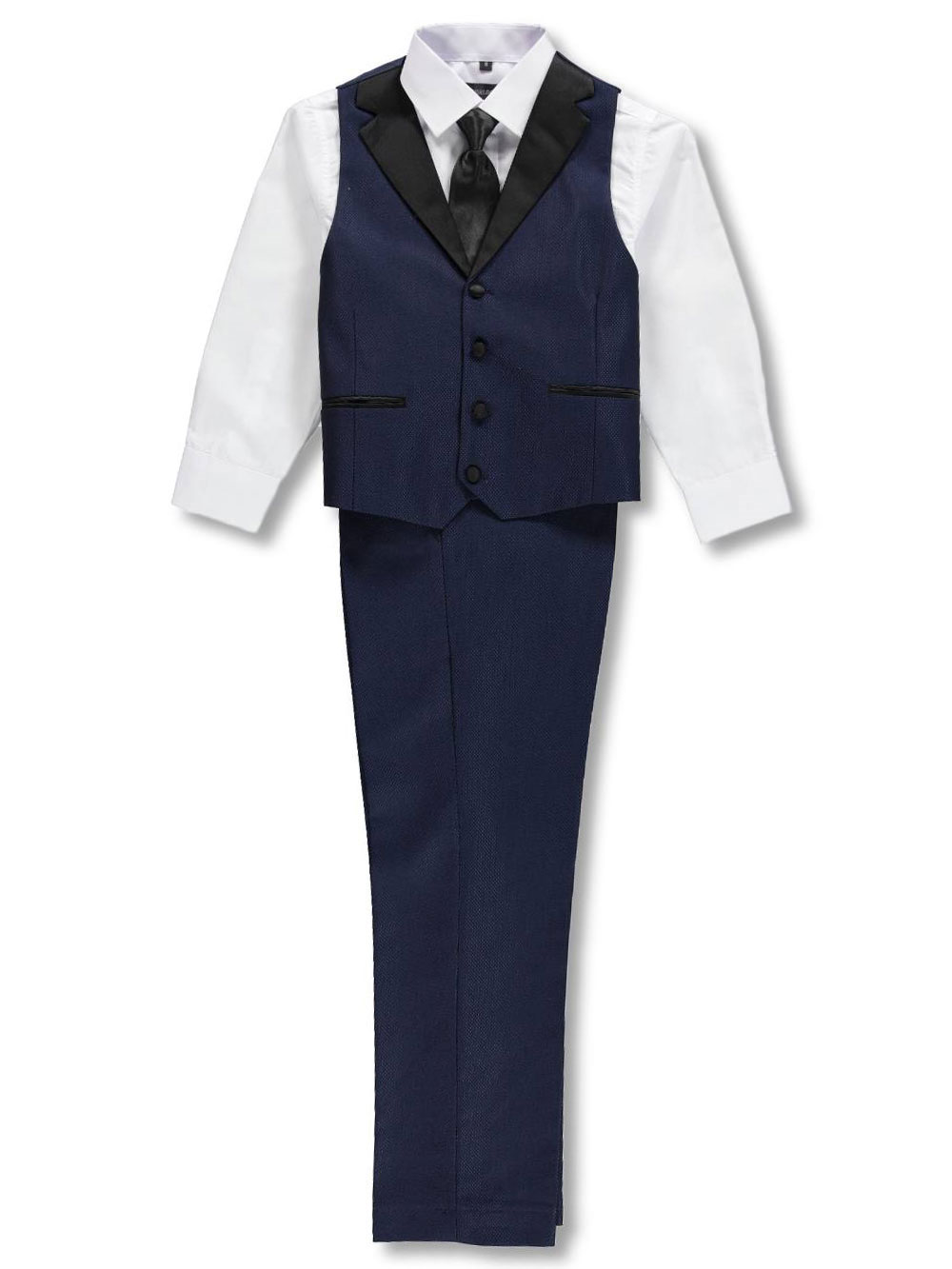 Boys Navy Formal Pant Sets