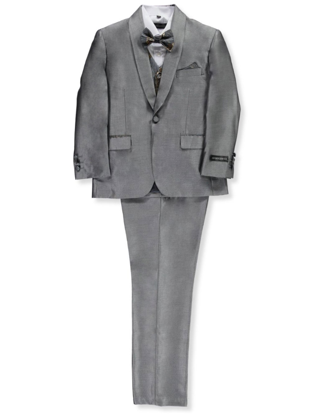 Suits Husky Size 5-Piece Suit