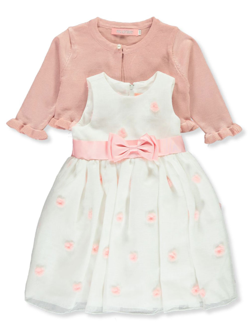 Girls Pink Newborn Dresses