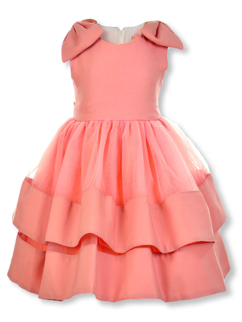 Girls' Tiered Skirt Dress