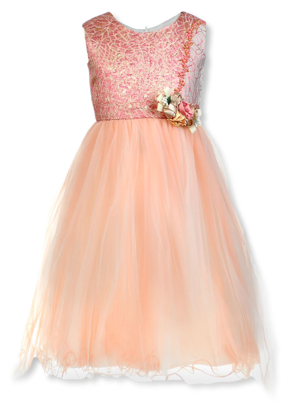Girls Rose Special Occasion Dresses