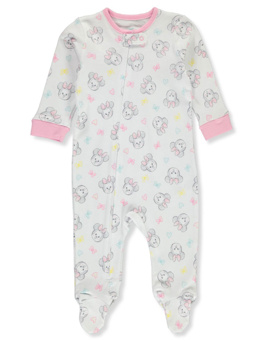 Disney Minnie Mouse Baby Girls' Coverall
