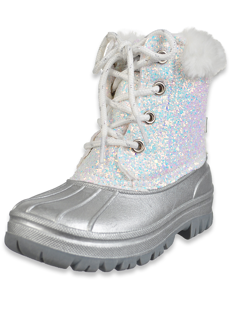 Girls' Glitter Duck Boots