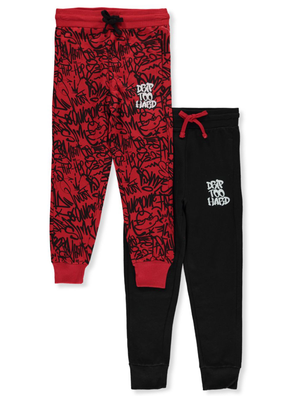 Boys' Drip Too Hard 2-Pack Joggers