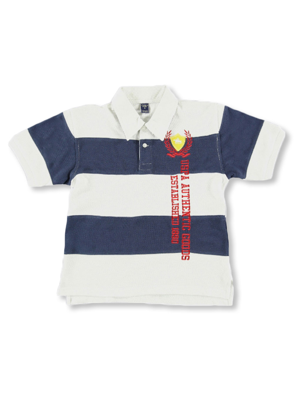 US Polo Assn Childrens Apparel U.S Boys Big Belted Patchwork