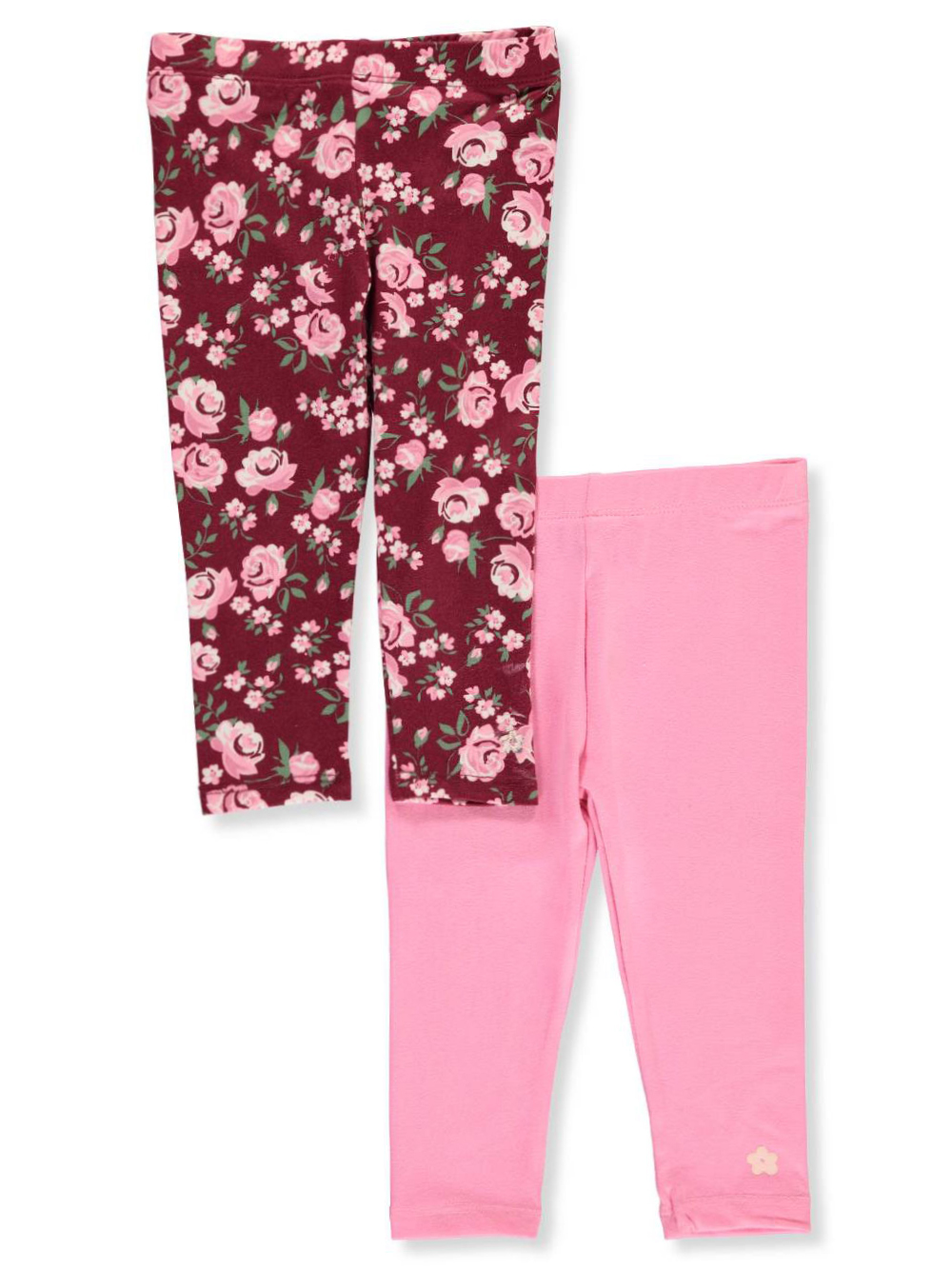 bbce41bdf Baby Girls' 2-Pack Leggings by Limited Too in Pink/multi from Cookie's Kids