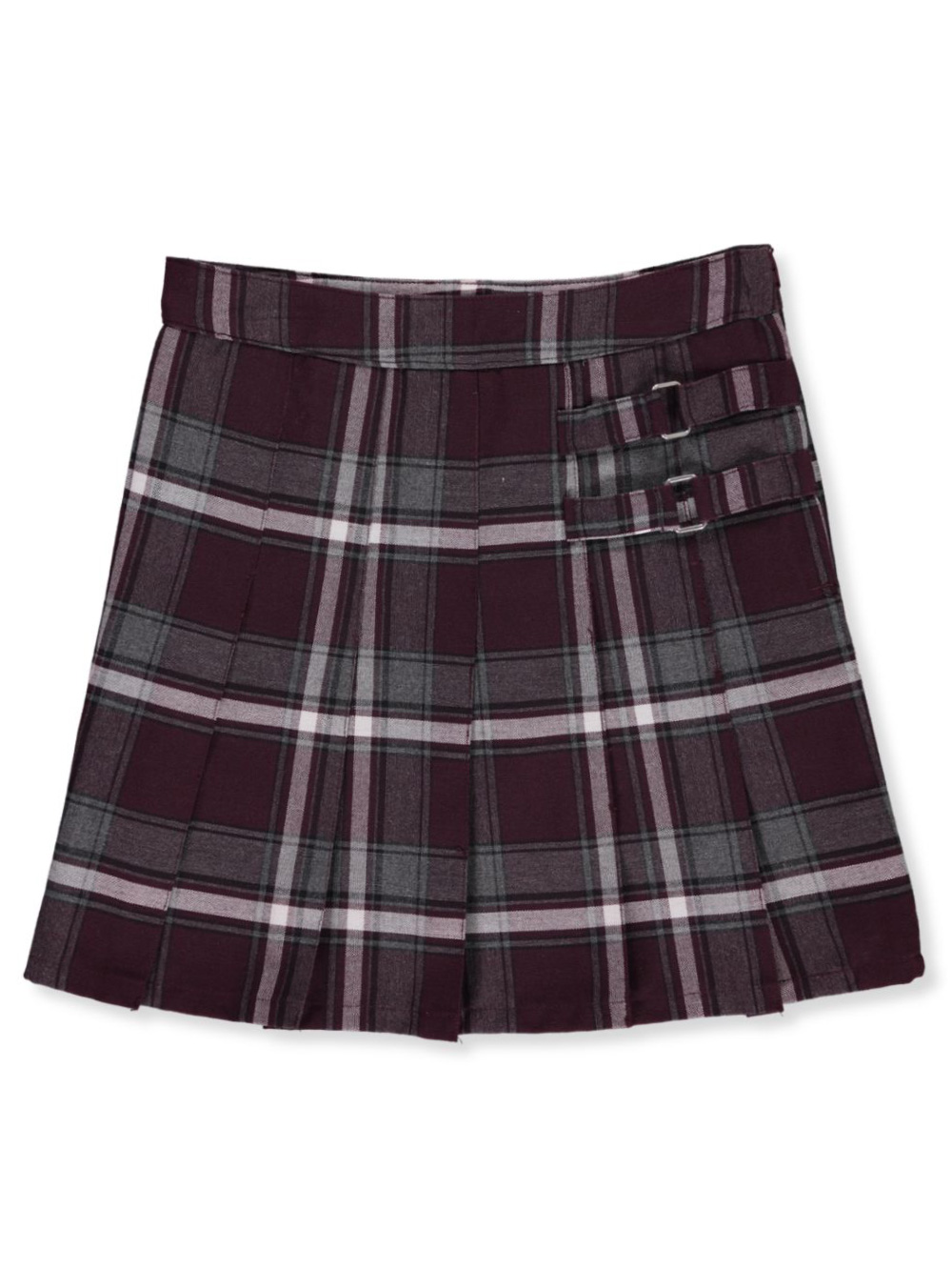 Plaid Scooter Skirt