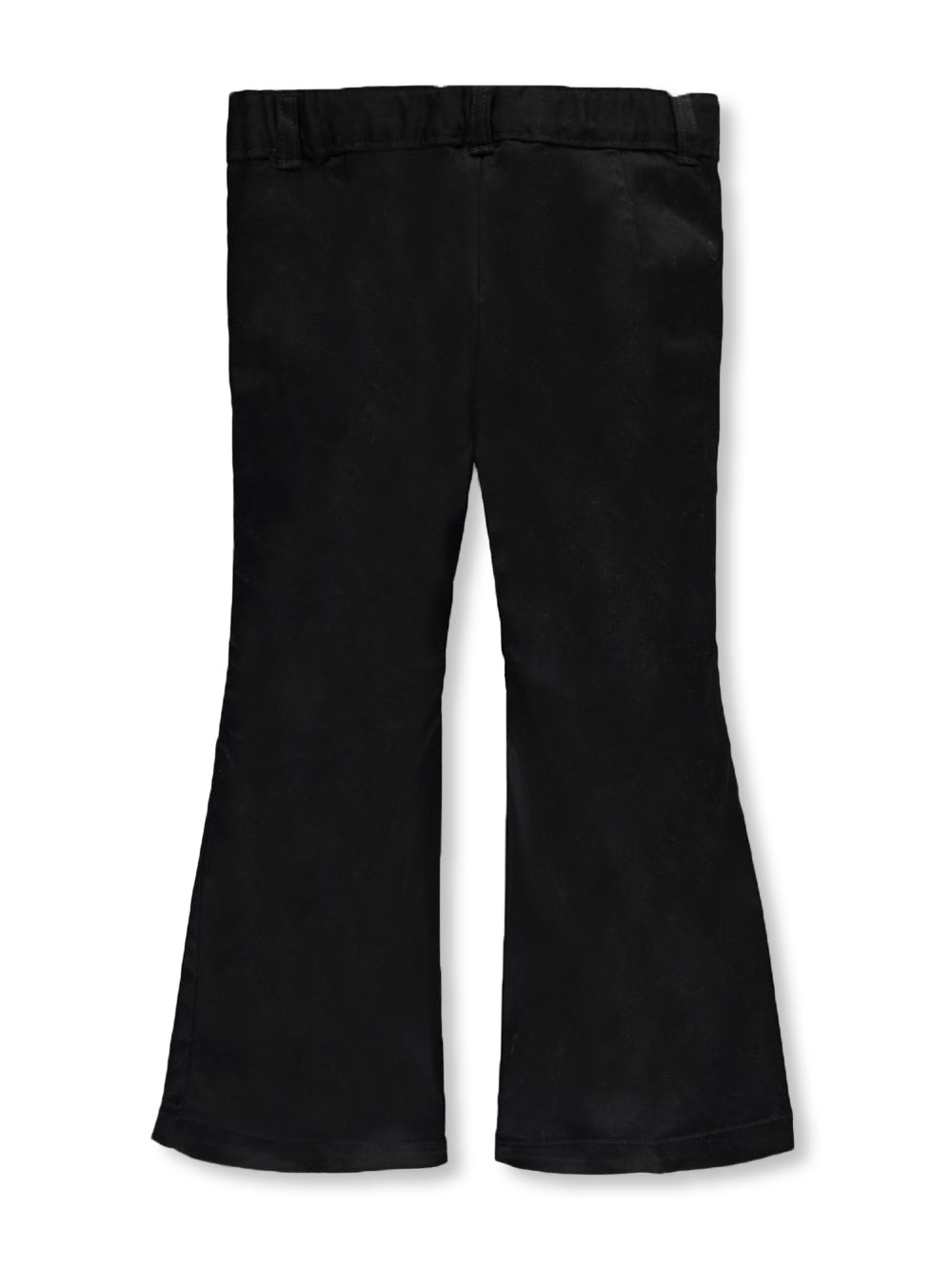 Girls' Flat Front Flare Pants