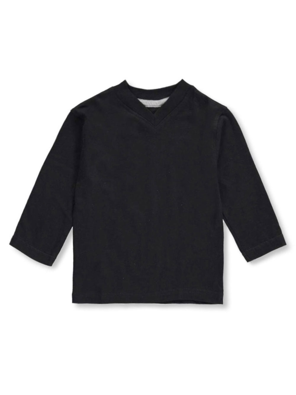 Boys' l and s V-Neck T-Shirt