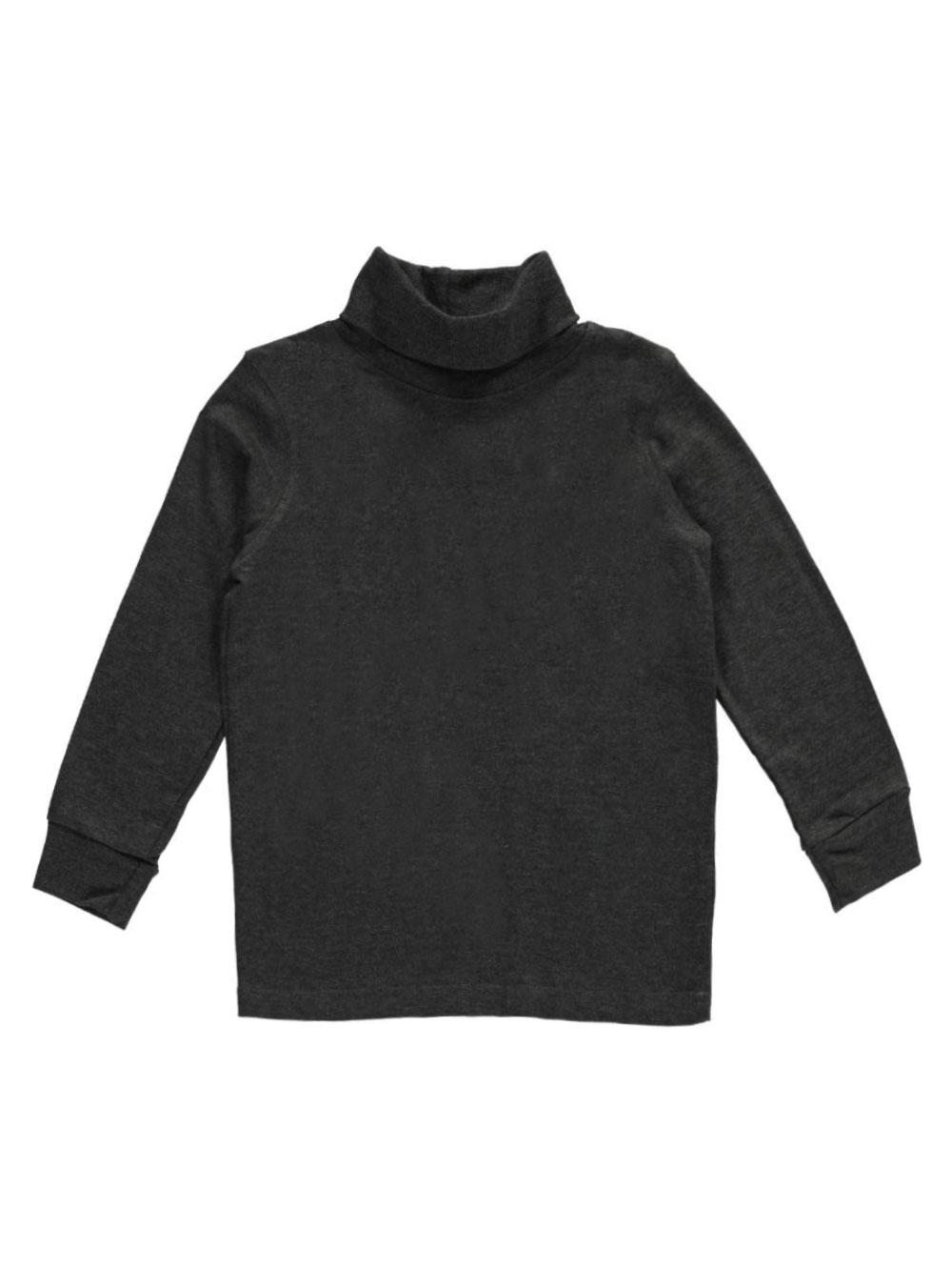 Image of French Toast Little Boys Basic Turtleneck Sizes 4  7  charcoal gray 4