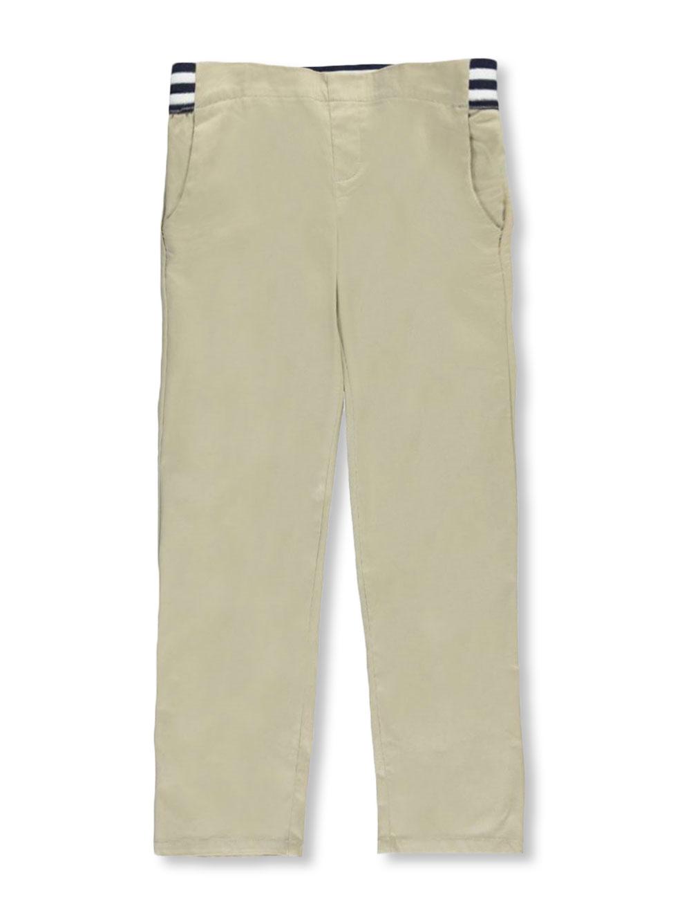 Boys School Uniform Pants 4 French Toast Khaki Cotton Blend  Pants