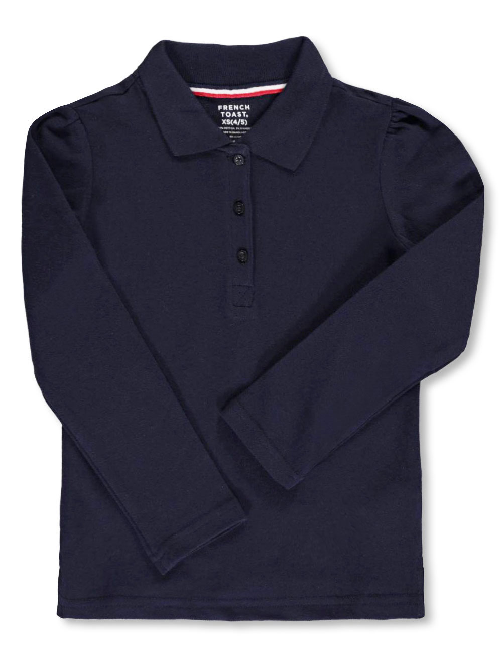 Knit Tops Long-Sleeved Polo Shirt