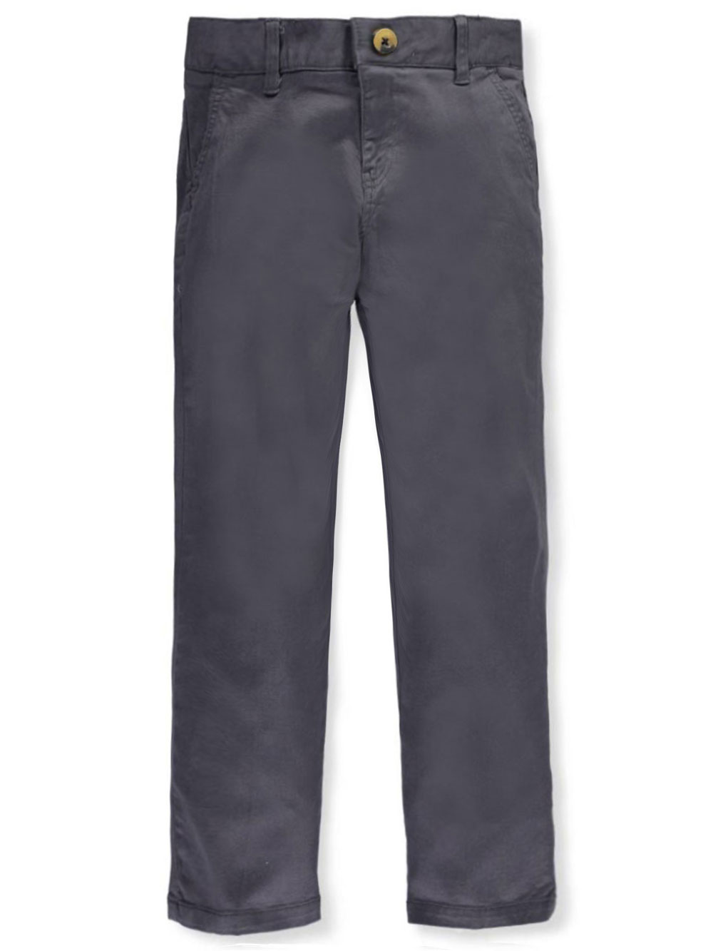 Twill Straight Fit Chino Pants