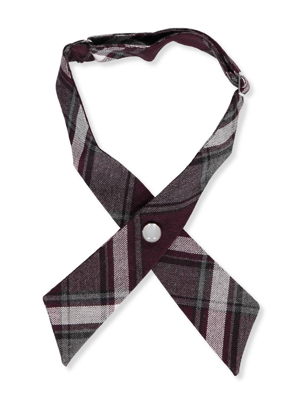 e189a9b495 Girls' Plaid Woven Neckband by French Toast in Plaid #91 from Cookie's Kids