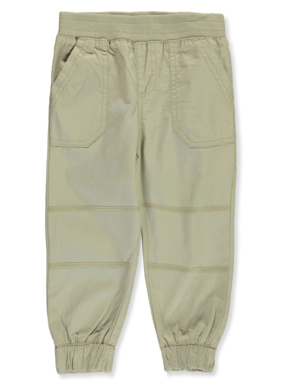 Boys' Twill Patch Joggers
