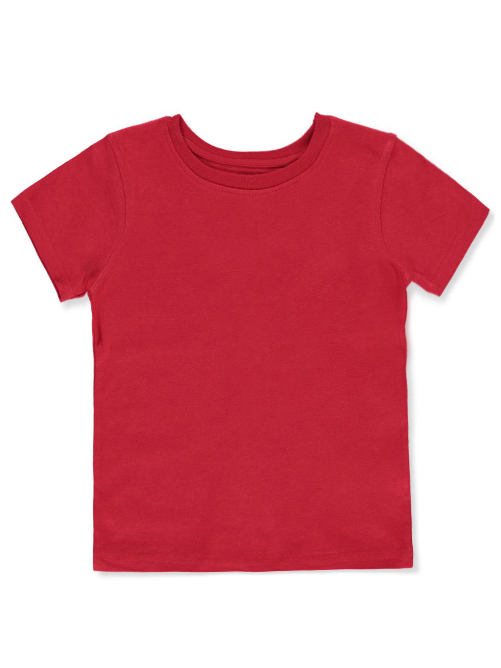 Boys' Basic Crew Neck T-Shirt